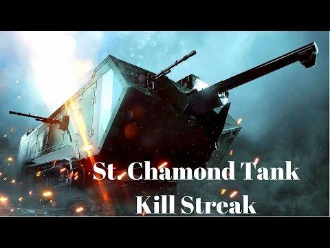 Battlefield 1 St.Chamond Tank Domination