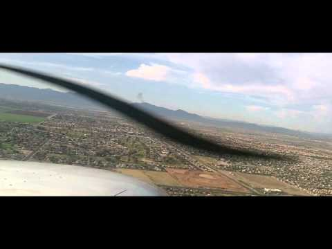 Cessna 172SP check out ride with ATC and Comms