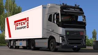 [1.31] Euro Truck Simulator 2 | New Volvo FH16 Accessories + Interior V4  | Mods
