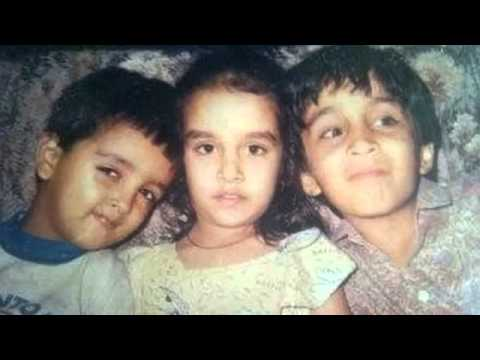 Shraddha Kapoor Rare Childhood Pics - YouTube