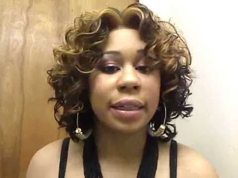 Model Model Jenna Lacefront Wig Review - YouTube