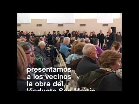"""<h3 class=""""list-group-item-title"""">Presentación a los vecinos de la obra del viaducto San Martín</h3>"""