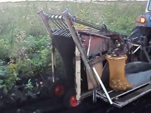 Картоплекомбайн кабан саморобний 1 - YouTube