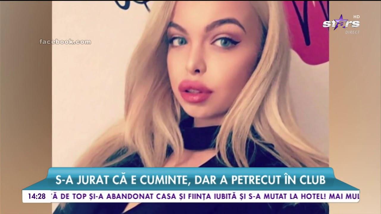 Am prins-o cu minciuna pe Barbie de România. S-a jurat că e cuminte, dar a petrecut în club
