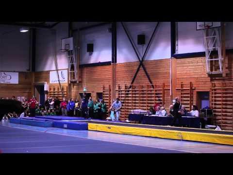 Team Hordaland Tumbling - kretskonkurranse 5 mars 2016