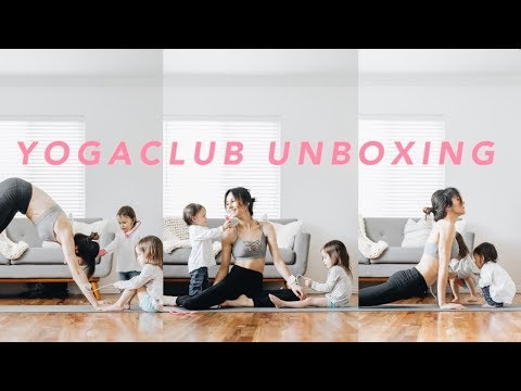 Yoga Club Unboxing & Try On | Fitness Subscription Box | Samantha Broderick