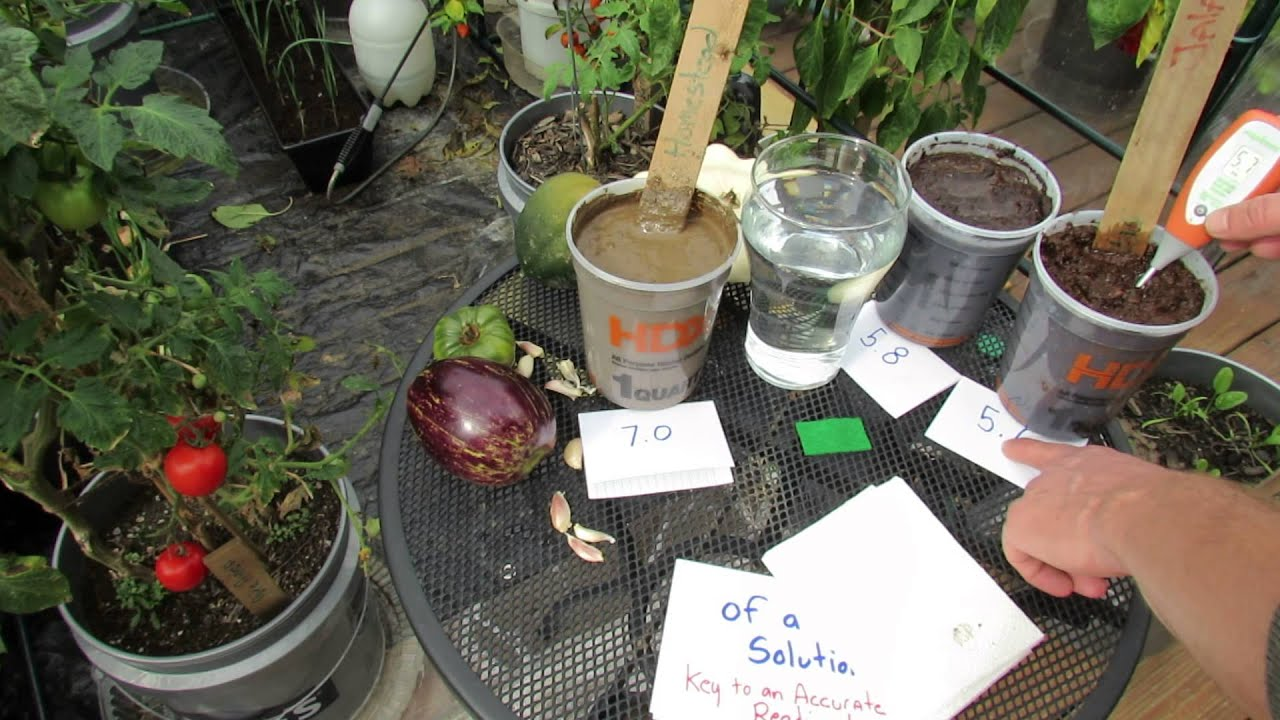 Uses Of Kitchen Garden What Is Vegetable Garden Soil Ph And How To Use A Digital Ph Meter