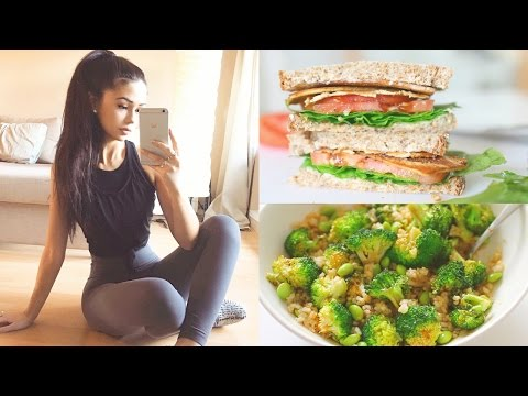 WHAT I EAT IN A DAY 🍎 Healthy & Vegan!