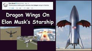 Dragon Wings On Elon Musk