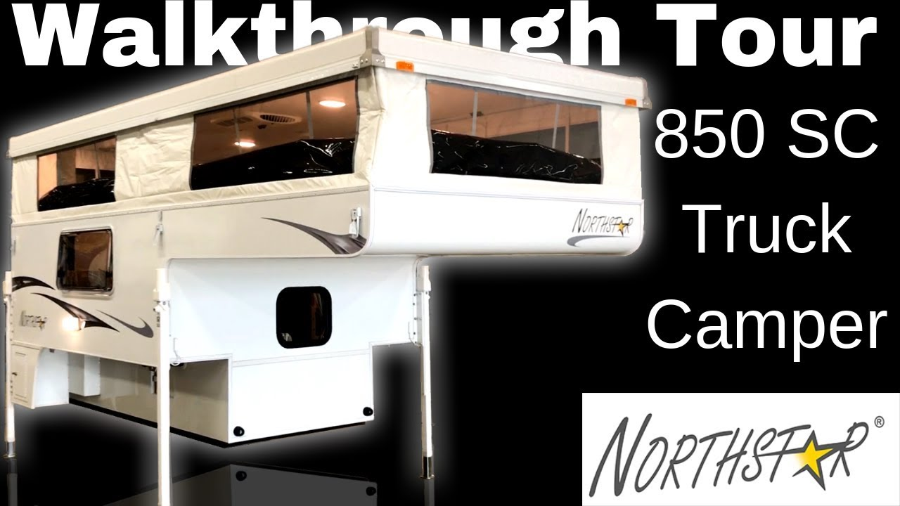 New 2019 Northstar Northstar Pop-Up 850SC Truck Camper Northstar Camper Wiring Diagram on
