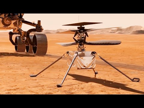 The first ever Mars helicopter is INGENIOUS