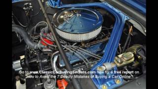 1965 Ford Mustang Restored A-Code Fastback Classic Muscle Car for Sale in MI Vanguard Motor Sales