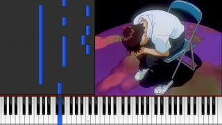 【Evangelion】 - 「Childhood memories, shut away」 (Instrumental Cover + Sheets Link)