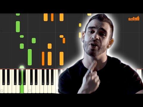 Bella - Wolfine - Piano - Cover - Tutorial - Synthesia - Keysynth