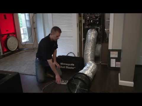 Duct Leakage Testing for code compliance