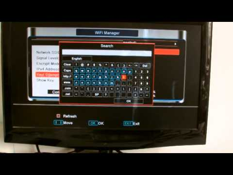 How to Use The Skybox V8 Full HD Support the WebTV Dual Core CPU 396 MHZ