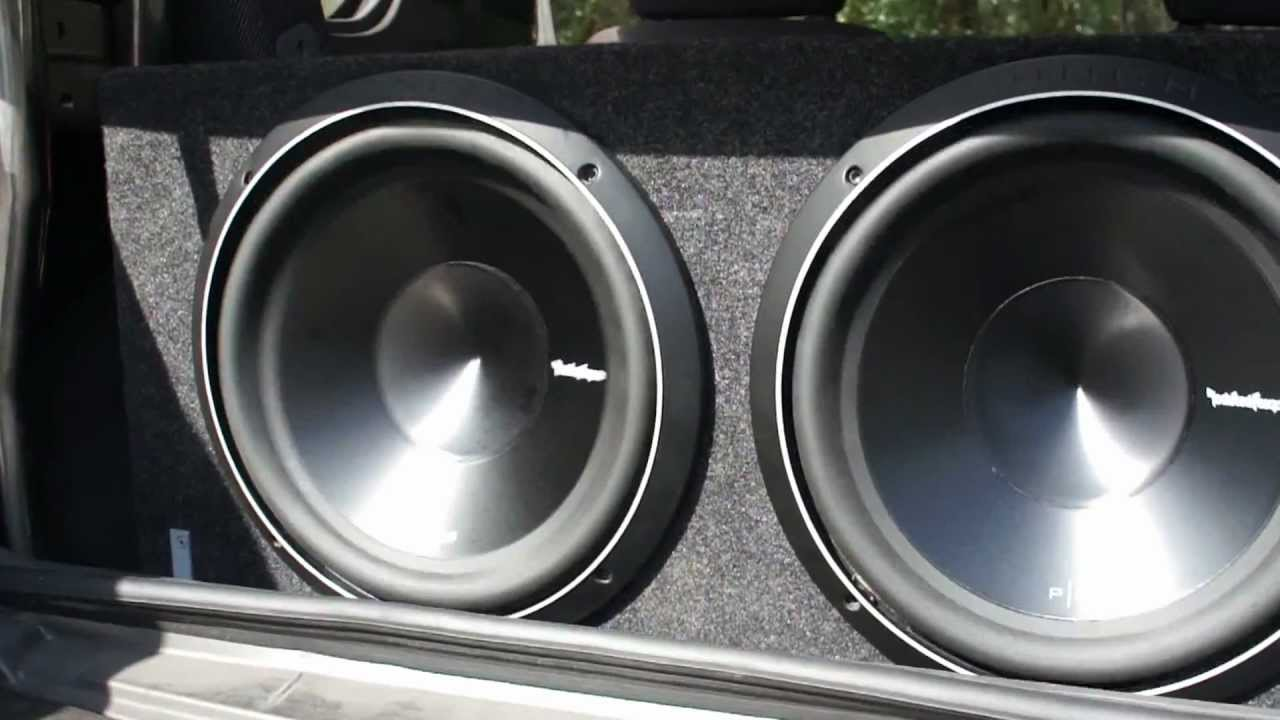 Rockford Fosgate 12 Inch Subwoofers Youtube