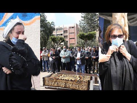جنازة أحلام الجريتلي من مسجد القبة الفداوية