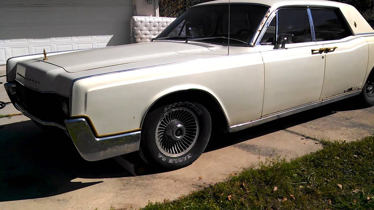 1967 Lincoln Continental Suicide Doors