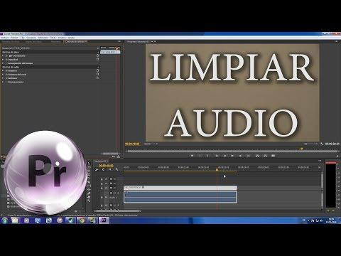 Como limpiar Audio en Premiere CC fácil y rápido