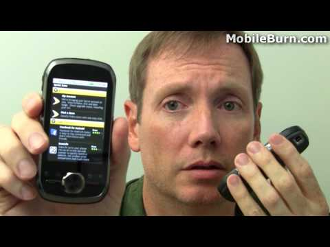 Motorola i1 for Nextel and Boost Mobile - push-to-talk demo