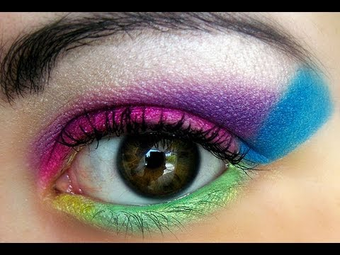 80s Makeup Tutorial Youtube - 80s-eye-makeup