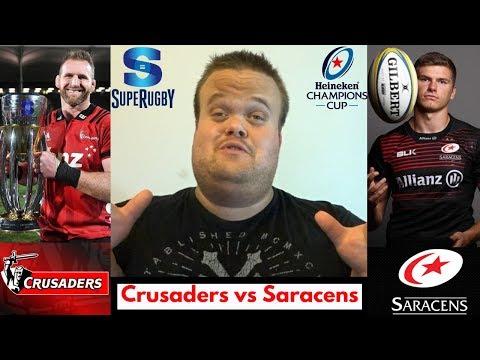 Crusaders vs Saracens: Who will win? | Gareth Mason