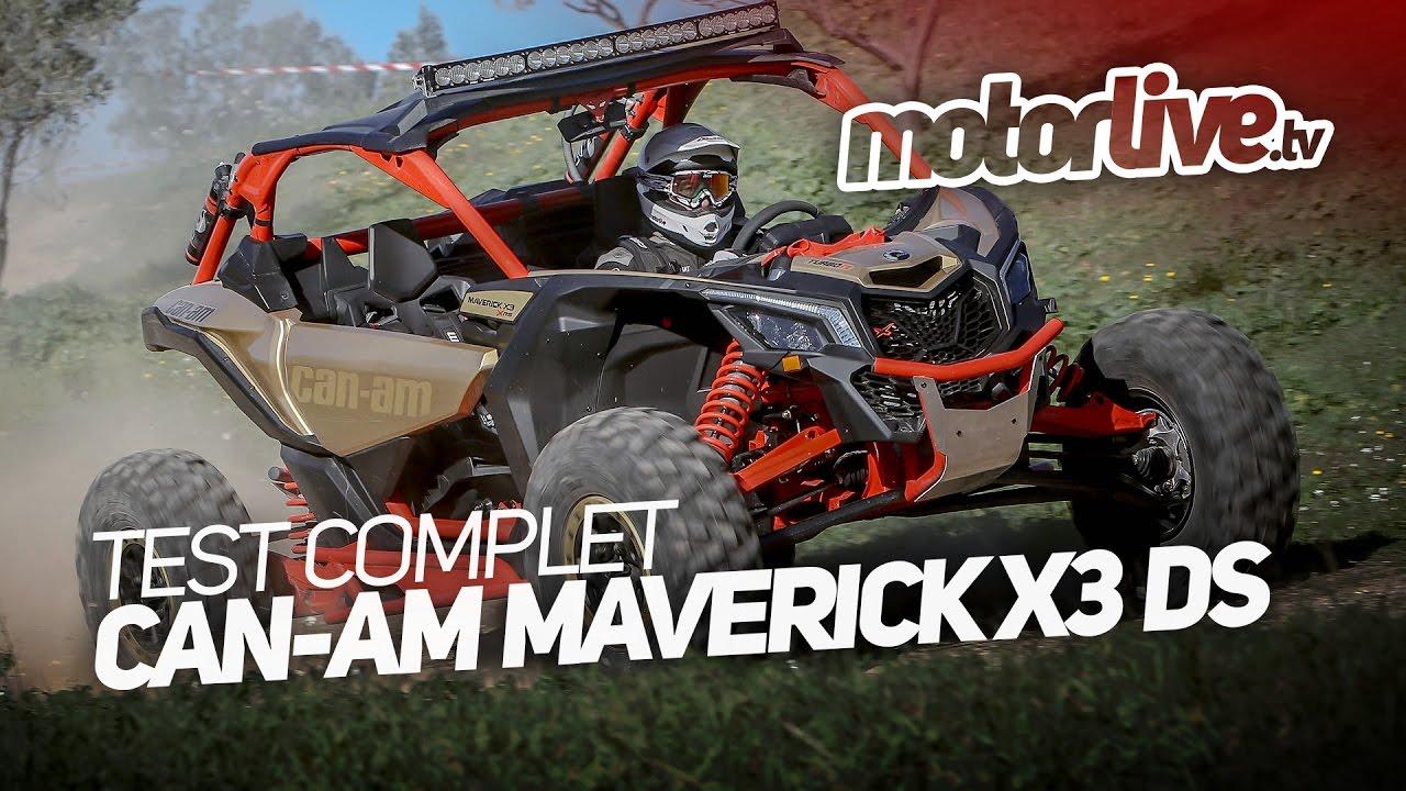 Download CAN-AM MAVERICK X3 ds | TEST