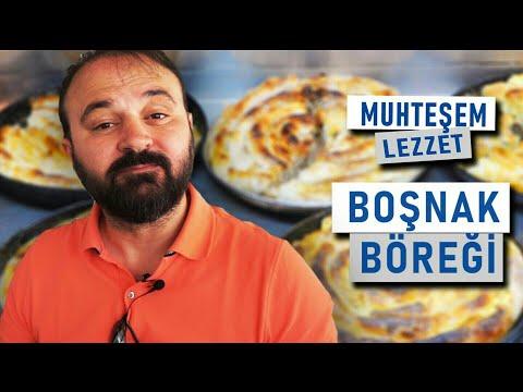 Bosna'da muhteşem bir lezzet - BOŞNAK BÖREĞİ !