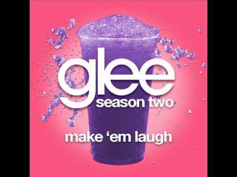 Glee - Make 'Em Laugh [LYRICS]