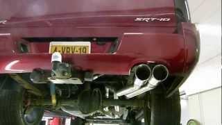 Dodge Ram SRT-10 Compleet RVS uitlaatsysteem met cut out van EPS Uitlaten BV