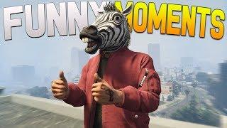 GTA 5 Funny Moments - DOOMSDAY HEIST DLC FUNTAGE!