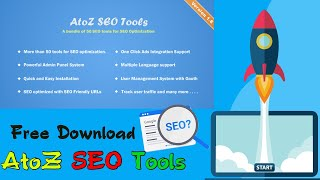 Free Download AtoZ SEO Tools | Search Engine Optimization Tools | Tech Fame 360