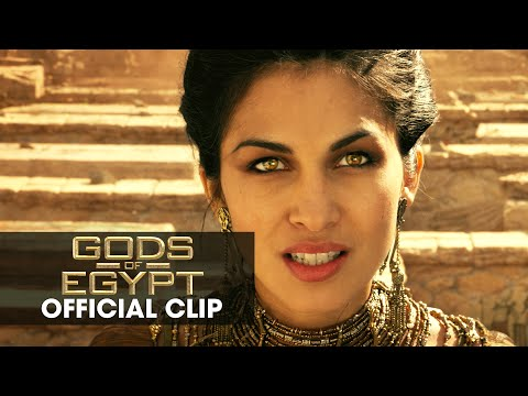 "Gods of Egypt (2016 Movie - Gerard Butler) Official Clip – ""I Command You"""