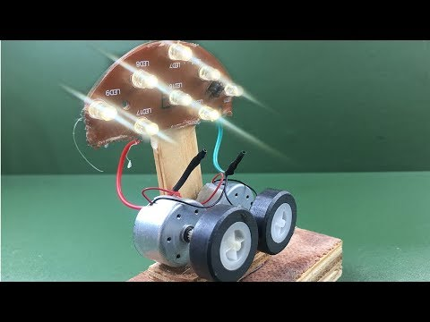 How to make free energy generator electricity light bulb using dc motor with magnet