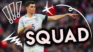 England's 2018 WORLD CUP Squad According to Football Manager