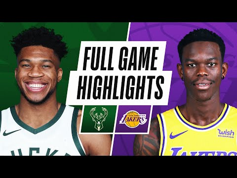 BUCKS at LAKERS | FULL GAME HIGHLIGHTS | March 31, 2021