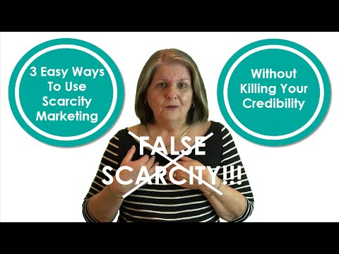 False Scarcity Marketing Kills Small Business Credibility