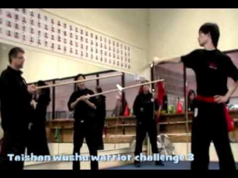 Taishan wushu warrior challenge 3