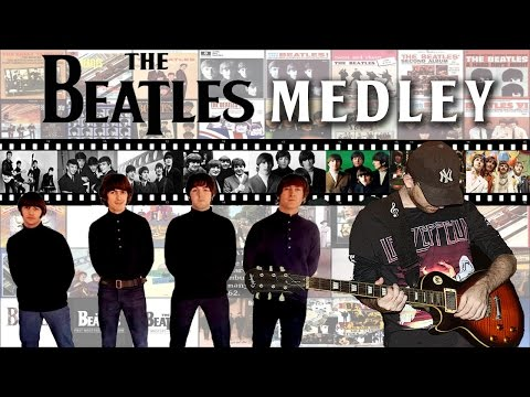 The Beatles Guitar Riffs Medley (27 Riffs)