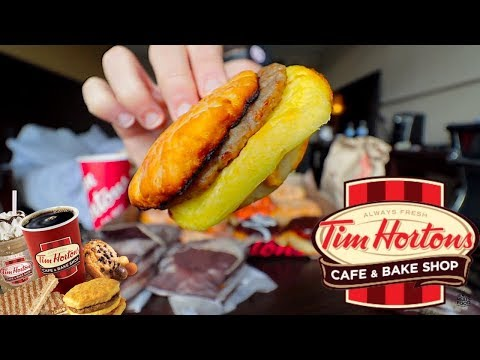 The Tim Horton's 30 Dollar Breakfast Challenge | Trip To Buffalo Pt.3