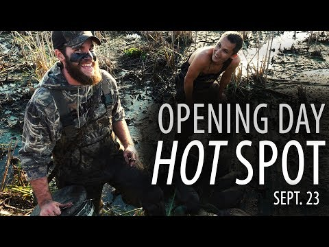 HOT 92 Degrees - Duck Opener Limit | Sept. 23, 2017 | Nomad Chronicles Waterfowl TV