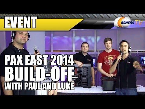 Twitch Rebroadcast: Paul & Luke Build Off @ PAX East 2014 - NeweggTV
