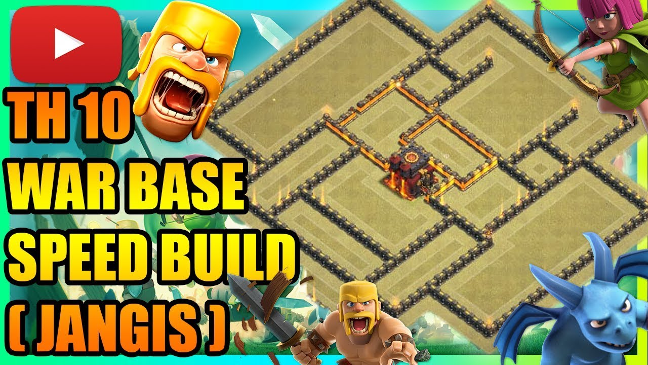 Clash Of Clans - NEW Town Hall 10 (TH10) War Base 2019 | ANTI 3 STAR | ANTI  EVERYTHING !! | INSANE