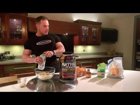 12 Days of #Fitmas - Austin Williams' NITRO-TECH Protein Balls