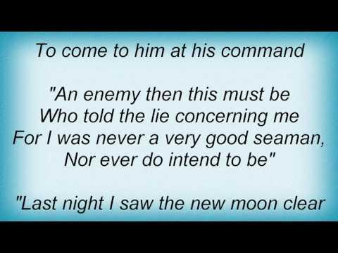 Fairport Convention - Sir Patrick Spens Lyrics