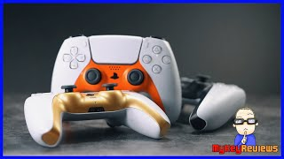 DualSense Controller: Custom Coloured Faceplates (PS5) | Set-Up & Review | MyKeyReviews