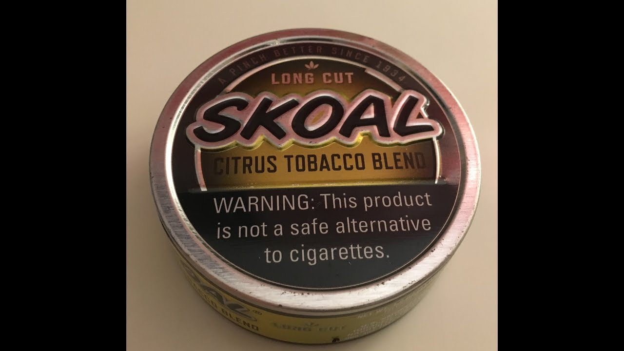 skoal citrus re visited