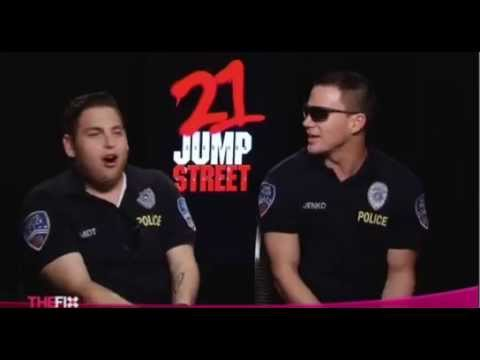21 Jump Street HILARIOUS interview with Jonah Hill and Channing Tatum