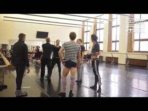 Igor Zelensky Mayerling Rehearsal clip Feb 7th and 8th